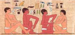 reflexologie en Egypte